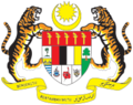 Coat of arms of Malaysia the 6th race add torch change flag a littel.png
